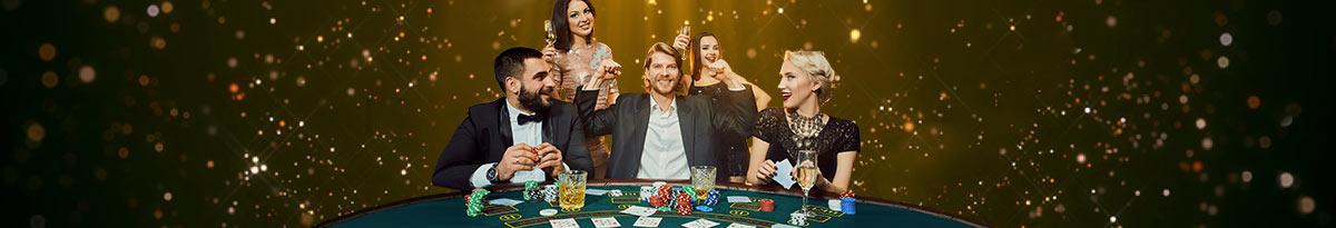 Vzrušenie pri kartových kasínových hrách