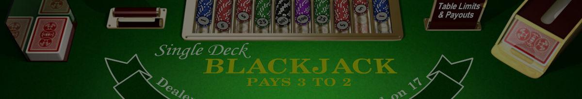 Single Deck BlackJack